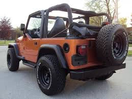orange jeep lifted 2002 jeep wrangler information and photos zombiedrive