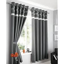 Black And Grey Curtains Grey And Black Curtains Co Uk