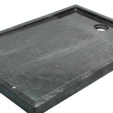 piatto doccia pietra piatto doccia in pietra naturale nera 80x120 bangkok