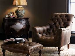 Club Chairs With Ottoman Tufted Leather Club Chair And Ottoman Stuff To Buy Pinterest