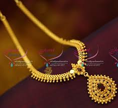 fashion necklace gold images Nl5936 beads design gold plated short necklace fashion kids JPG