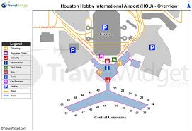 Airport Map Houston Airport Map Map Of Houston Airport Texas Usa