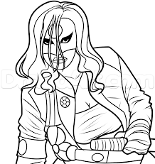 Step 8 Drawing Katana From Suicide Squad