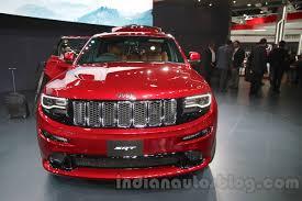 jeep grand cherokee modified jeep grand cherokee srt auto expo 2016 live