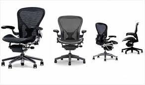 Desk Chair Herman Miller Herman Miller Aeron Office Chair Size B Attractive Designs