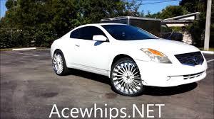 nissan altima white acewhips net female u0027s white nissan altima coupe on 24