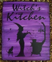 witches kitchen witch sign witchcraft by sleepyhollowprims on zibbet