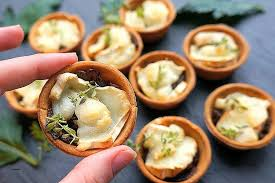 canape cups recipes canape cups recipes cheesy bacon and egg breakfast cups