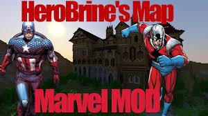 Marvel Universe Map Minecraft Herobrine U0027s Mansion Map With The Marvel Craft Universe