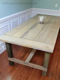 Best  Farmhouse Table Plans Ideas On Pinterest Diy Farmhouse - Building your own kitchen table