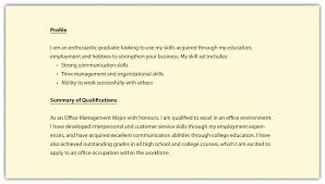 profile exle for resume resume profile exle awesome gallery of exles of resumes