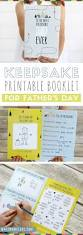 free printable father u0027s day booklet a homemade gift sure to melt