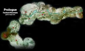 Thedas Map Frostback Mountains Prologue Dragon Age Inquisition Game Maps Com