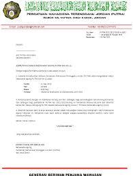 contoh surat jemputan rasmi contoh oct