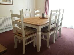 Amazing Mexican Pine Dining Table And Chairs  On Used Dining - Pine dining room table