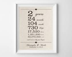 25 year anniversary gift ideas for best 25 2 year anniversary gift ideas on 3 year