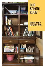 our homeschool room mended u0026 blended