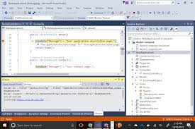 visual studio ide and azure visual studio
