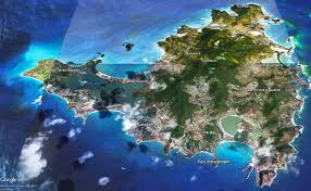St Maarten Map St Maarten Island Information Indigo Bay