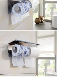 steel toilet paper holder double roll paper towel rack