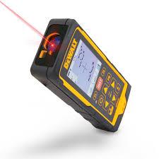 dewalt 660 ft laser distance measurer with color lcd 4x zoom