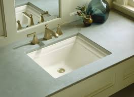 kohler memoirs rectangular undermount bathroom sink with overflow
