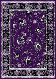 Purple And Black Area Rugs Purple Area Rug 8 10 Shag Purple 7 Ft X 7 Ft Area Rug