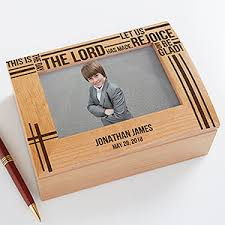 engraved keepsake box personalized communion keepsake box