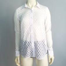 s fitted blouses gap career polka dot tops blouses for ebay