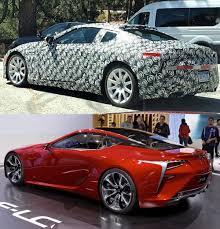 lexus lc spy photos lexus lc gets a subtle aero upgrade with the kind help of trd