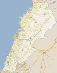 Lebanon World Map by Footiemap Com Lebanon 2010 2011 Map Of Top Tier Lebanese