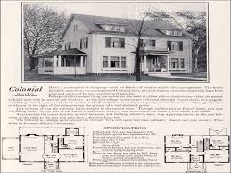 colonial revival house plans colonial homes revival house plans small characteristics 1930