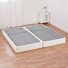 Folding Cing Bed Half Fold Metal Box King Size Mattress Bed Foundation