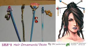 hair ornaments lulu s hair ornaments by witch13888 on deviantart