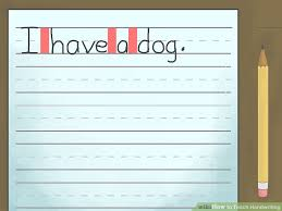 how to teach handwriting with pictures wikihow