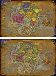 Map Quest Direction Wow Level 100 To 110 Detailed Quests Guide