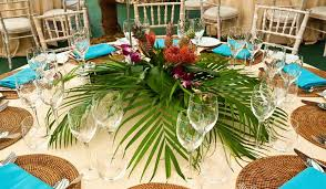 themed table decorations tropical table decorations pictures and images of party ideas