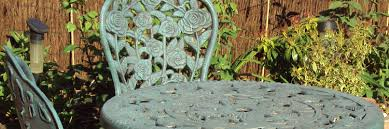 refinishing wrought iron furniture will help it last a lifetime
