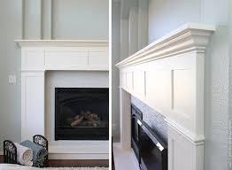 How To Build Fireplace Mantel Shelf - home improvement build your own fireplace mantel u0026 hearth