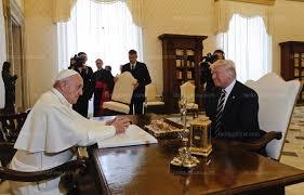 bureau president americain monde après sa rencontre avec le pape est à bruxelles