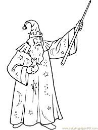 magic wizard witch coloring page 14 coloring page free fantasy