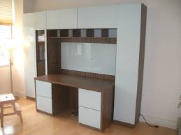 Ikea Bookcase And Desk Wall Units Stunning Wall Unit With Built In Desk Surprising Wall
