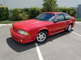 fox ford mustang for sale ford mustang hatchback 1991 for sale 1facp42e6mf112853 1991