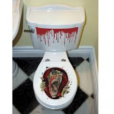 Halloween Toilet Seat Grabber Decoration Party Parade