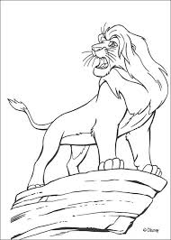 lion king coloring pages mufasa lion king coloring