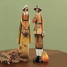 thanksgiving pilgrim statues pilgrims indian couples statues thanksgiving centerpiece autumn