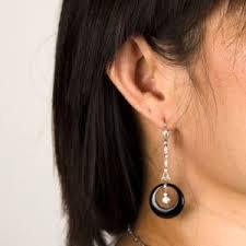 earrings on ear the ultimate guide to cleaning earrings estate diamond jewelry