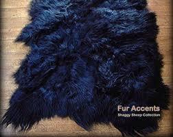Mongolian Faux Fur Rug Fake Bear Skin Rug Etsy
