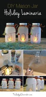 how to make mason jar lights with christmas lights diy mason jar holiday luminaria jar holidays and mason jar lighting
