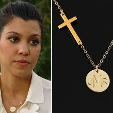 three initial monogram necklace shop 14k gold monogram necklace on wanelo